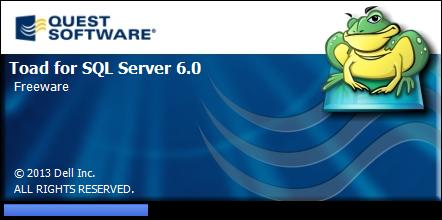 Toad for SQLServer Freeware