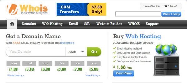 对whois.com的简单调查