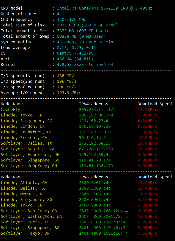 vps一键测试脚本推荐 - 第1张  | Qlog